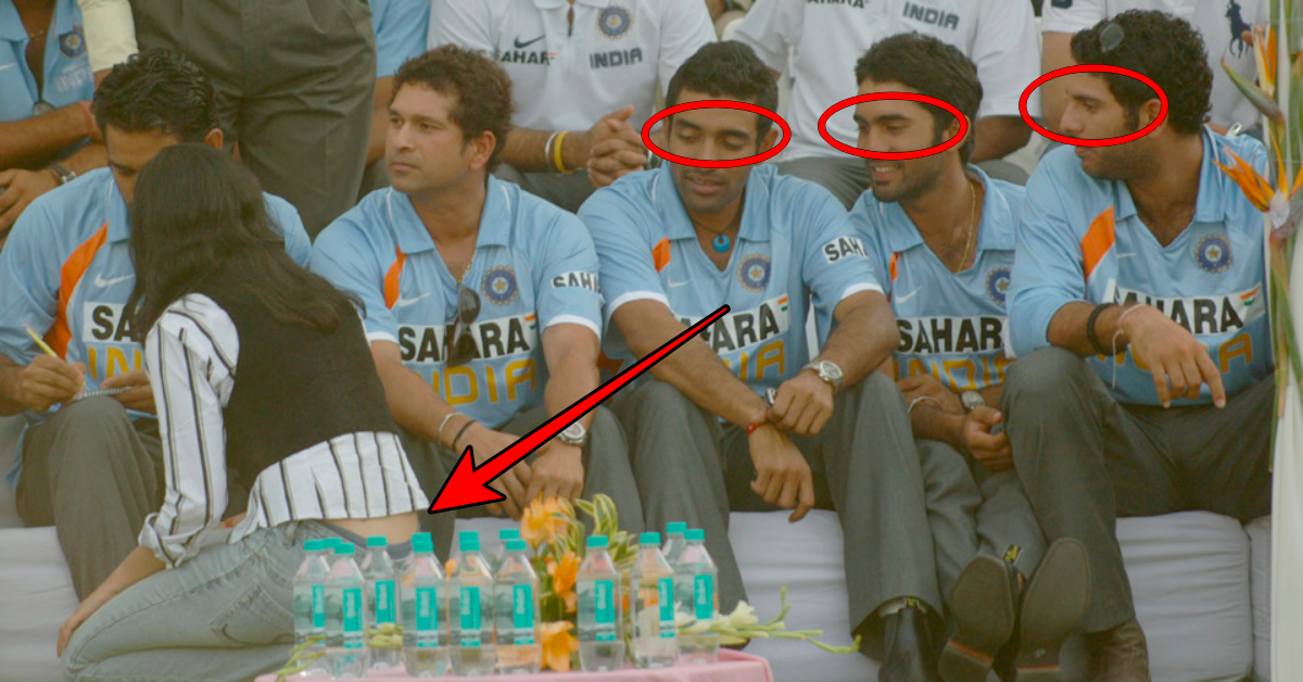 10 Cricketers Caught In Embarrassing Moments