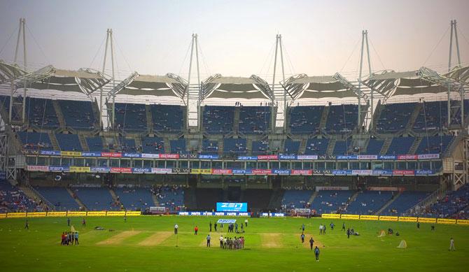 MCA Stadium in Pune