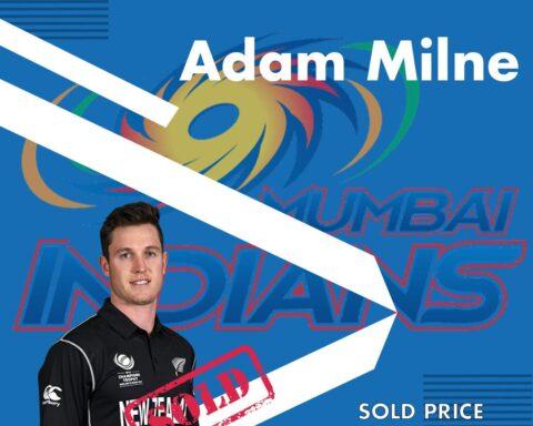 Adam Milne, IPL 2021 Auction, Mumbai Indians