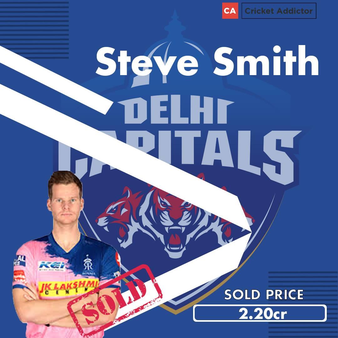 Steve Smith, Delhi Capitals, IPL 2021, IPL 2021 Auction, Steve Smith Delhi Capitals