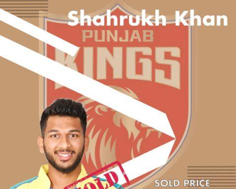 Shahrukh Khan, IPL 2021 Auction, Punjab Kings