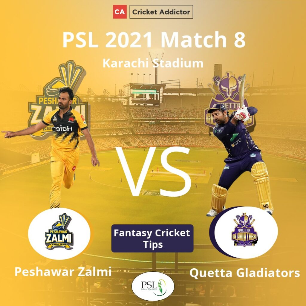 PES vs QUE Dream11 Prediction, Fantasy Cricket Tips, Playing XI, Pitch Report, Dream11 Team, Injury Update – Pakistan Super League 2021