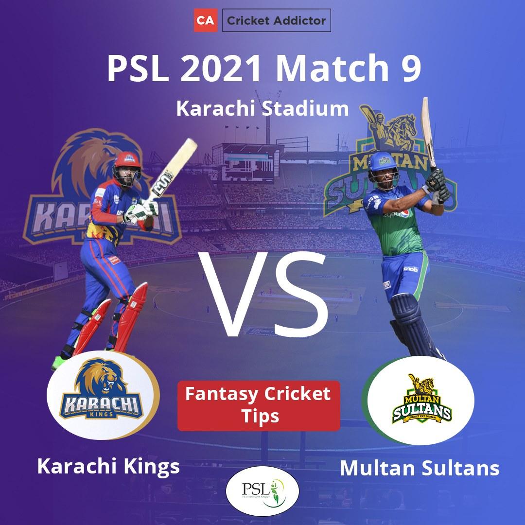 KAR vs MUL Dream11 Prediction, Fantasy Cricket Tips, Playing XI, Pitch Report, Dream11 Team, Injury Update – Pakistan Super League 2021