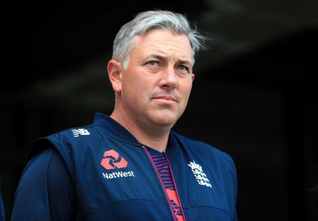 Chris Silverwood, England Head Coach