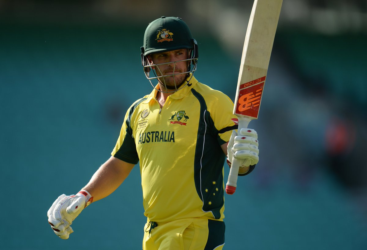 Never Easy Trying To Lead The Side When You Are Not Performing Well Personally - Aaron Finch