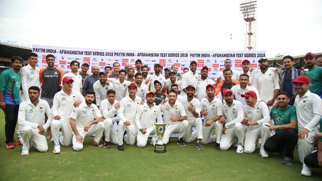 afghanistan first test