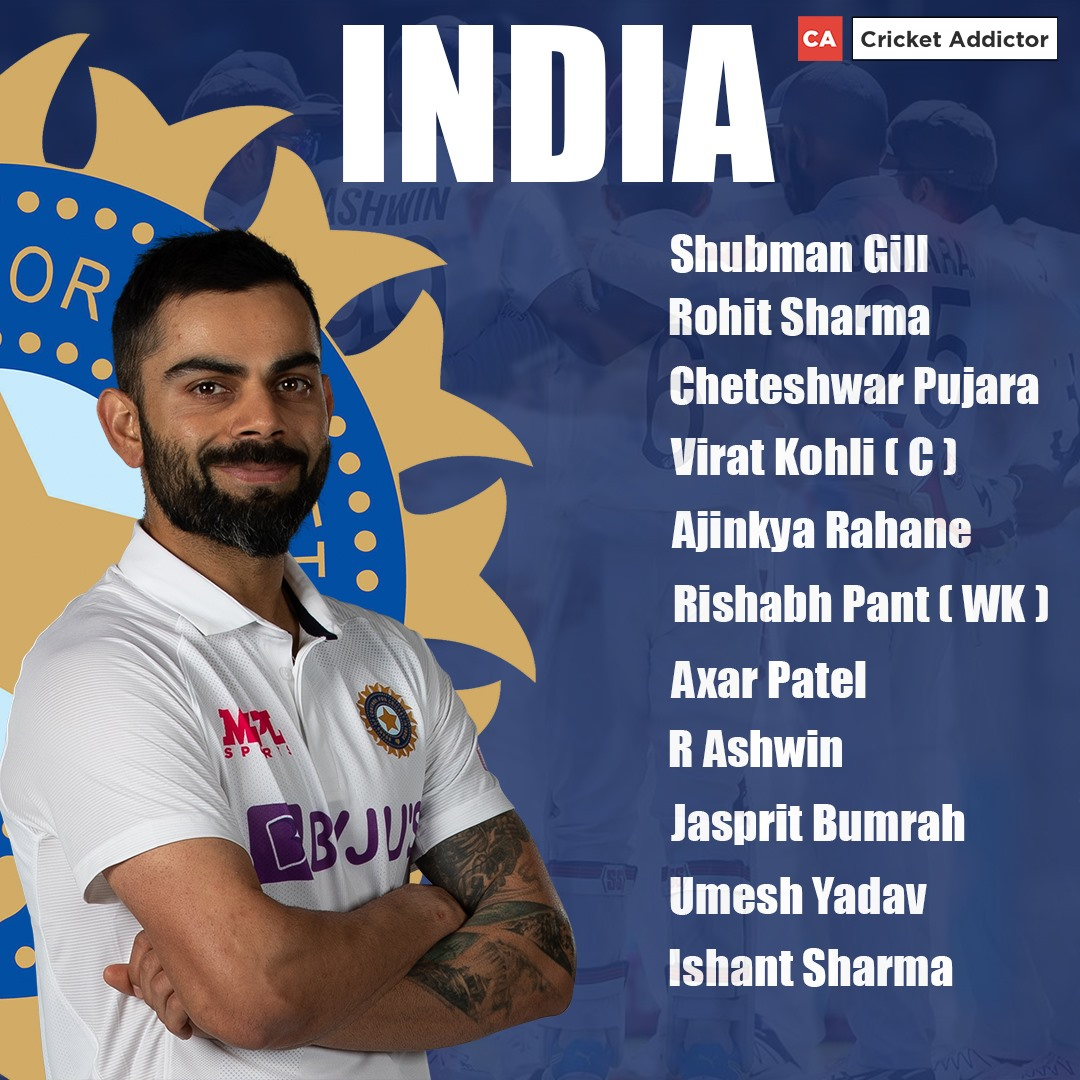 India vs England 2021, 3rd Test: India's Predicted XI