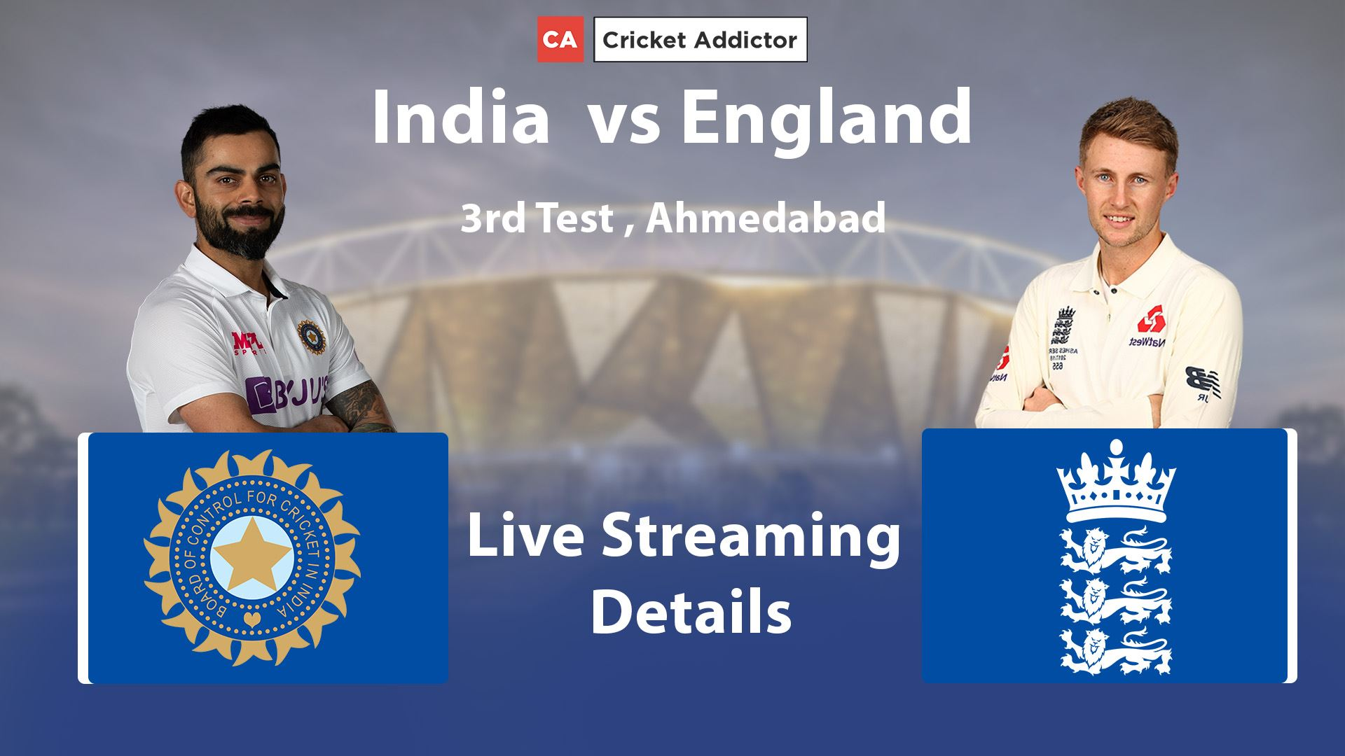 India vs England 2021, 3rd Test: When And Where To Watch, Live Streaming Details