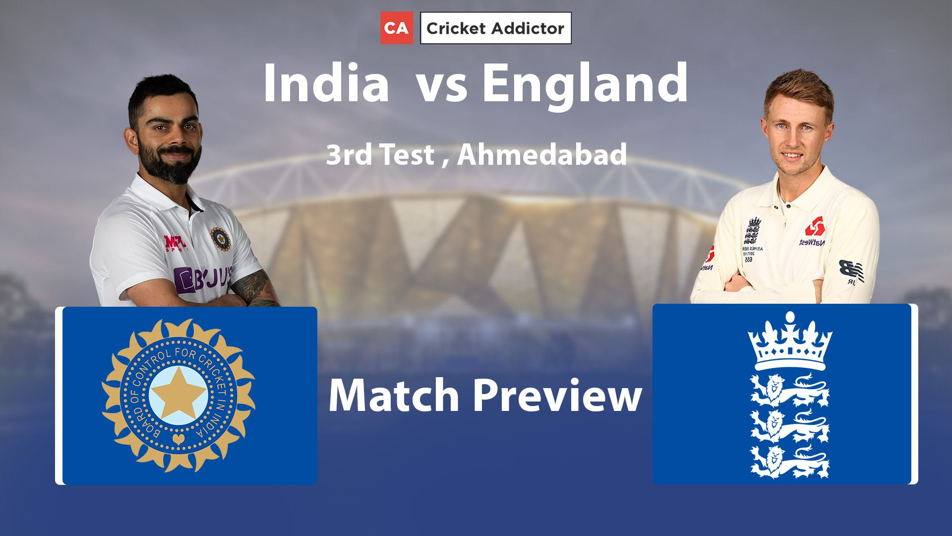 India vs England 2021, 3rd Test: Match Preview And Prediction