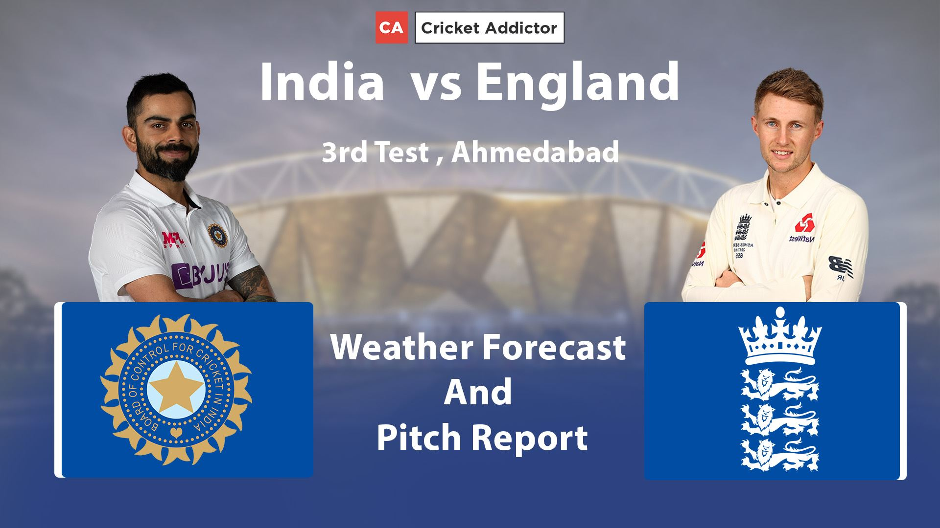 India vs England 2021, 3rd Test: Weather Forecast And Pitch Report