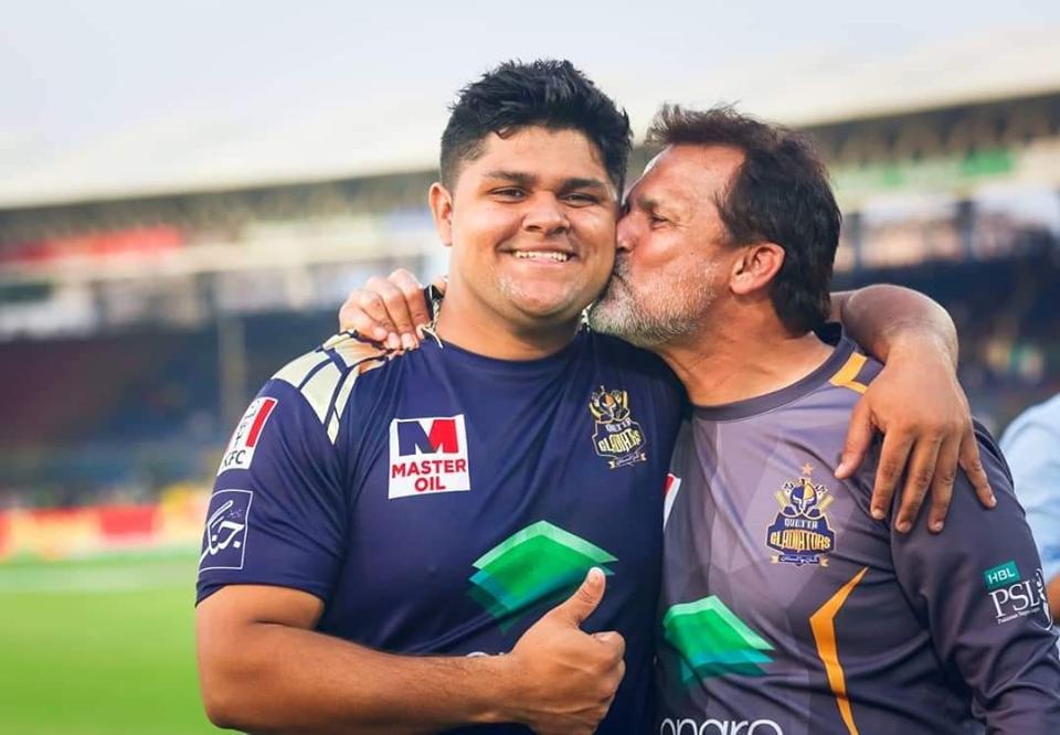 Moin Khan and Azam Khan - CricketAddictor