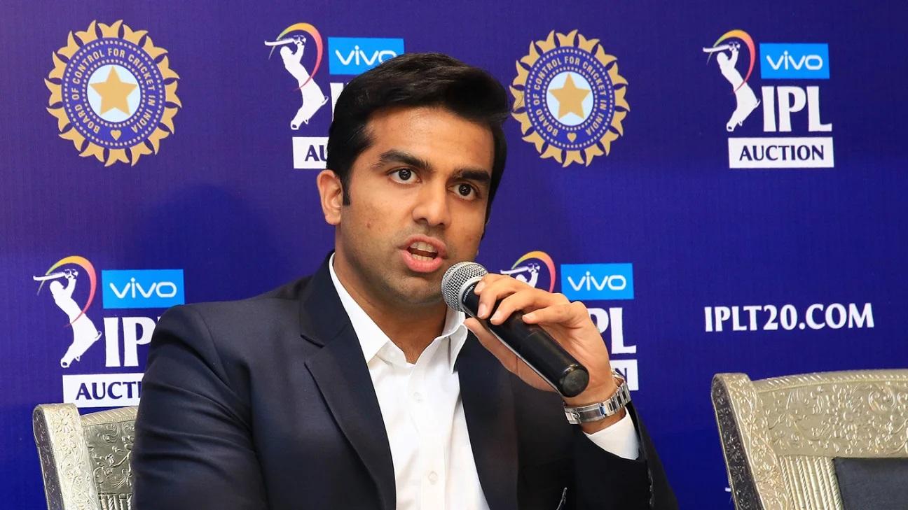 Delhi Capitals co-owner Parth Jindal (IPL Twitter)