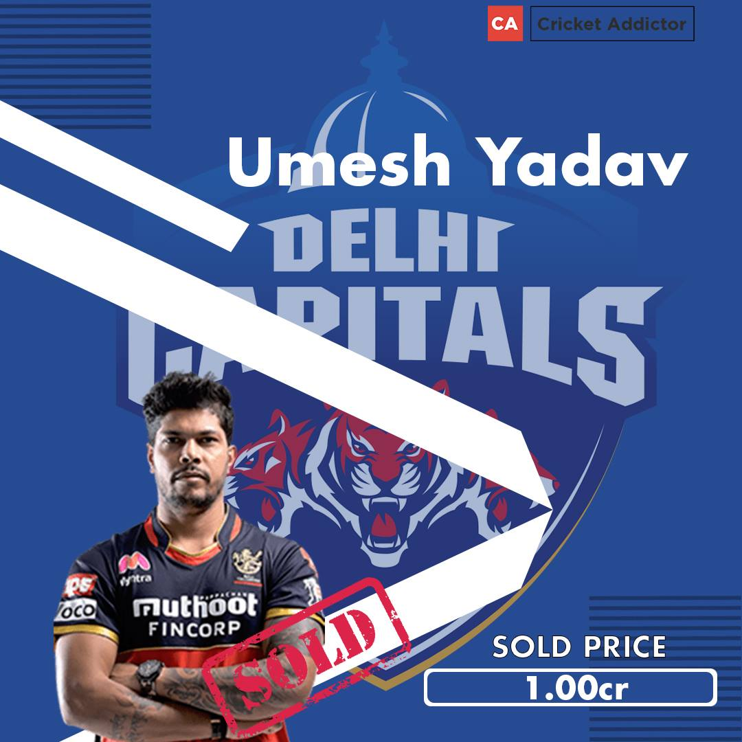 IPL 2021. IPL 2021 Auction, Umesh Yadav