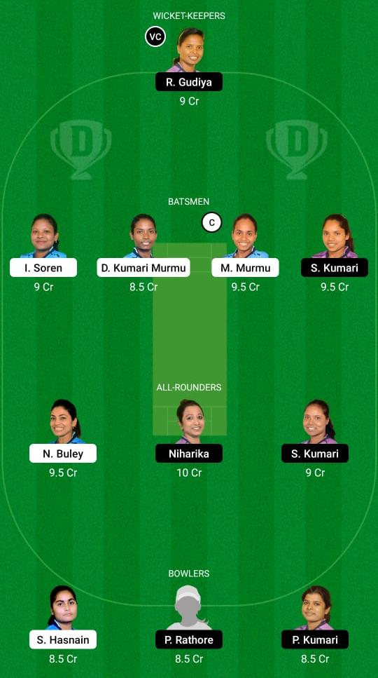 RAN-W vs JAM-W Dream11 Prediction Fantasy Cricket Tips Dream11 Team Jharkhand Women's T20