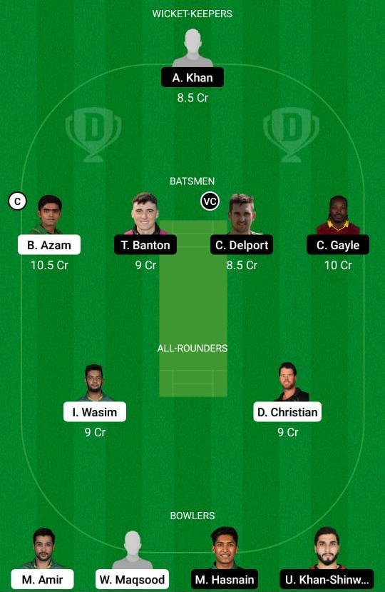 KAR vs QUE Dream11 Prediction Fantasy Cricket Tips Dream11 Team Pakistan Super League PSL 2021