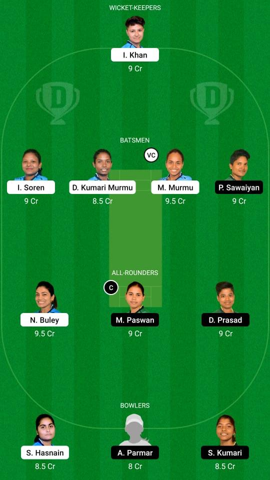 RAN-W vs DUM-W Dream11 Prediction Fantasy Cricket Tips Dream11 Team Jharkhand Women's T20 Challenge