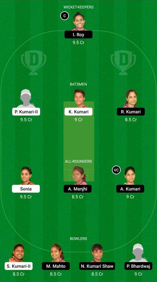 DHA-W vs BOK-W Dream11 Prediction Fantasy Cricket Tips Dream11 Team Jharkhand Women's T20