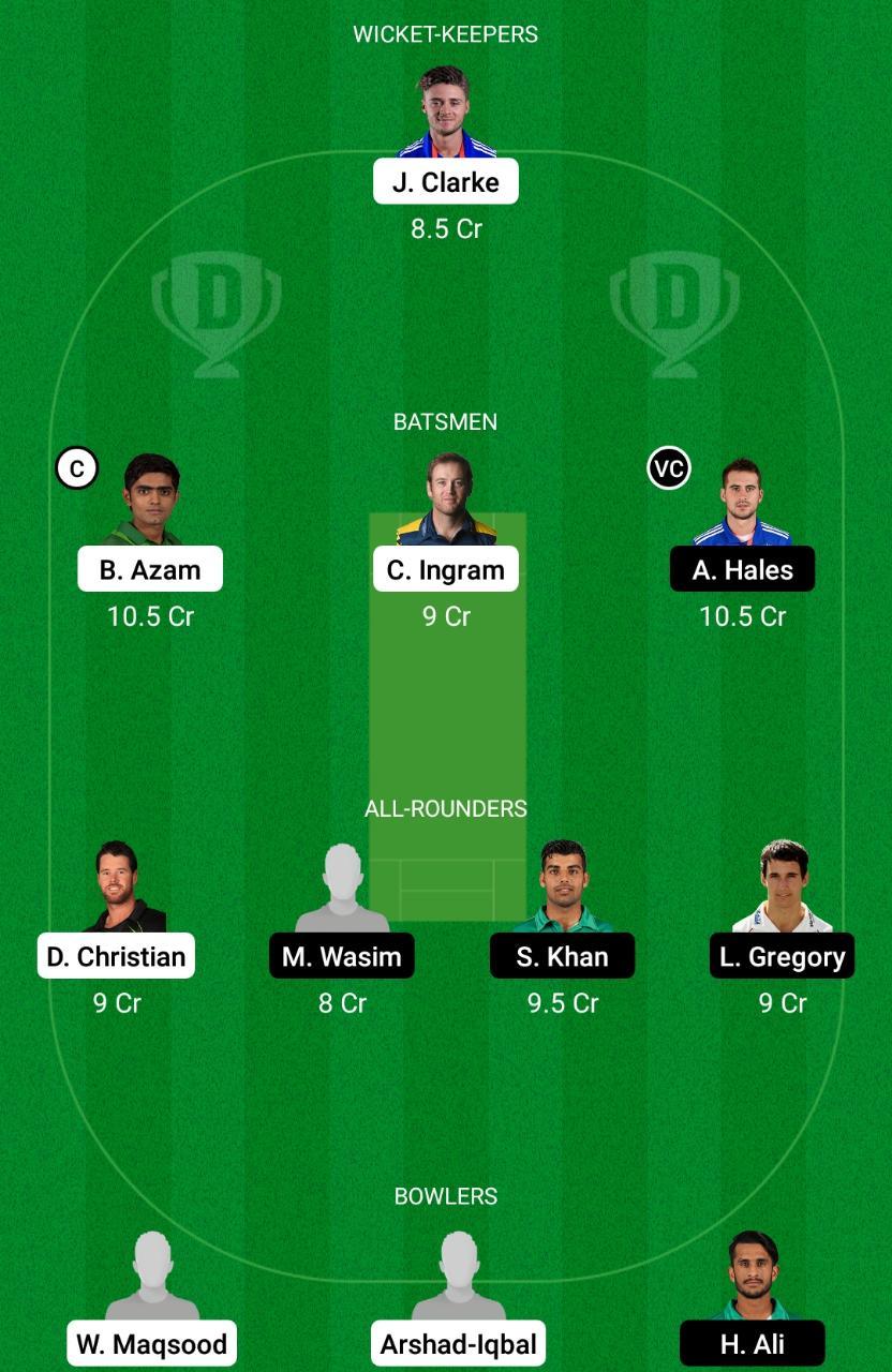 KAR vs ISL Dream11 Prediction Fantasy Cricket Tips Dream11 Team Pakistan Super League