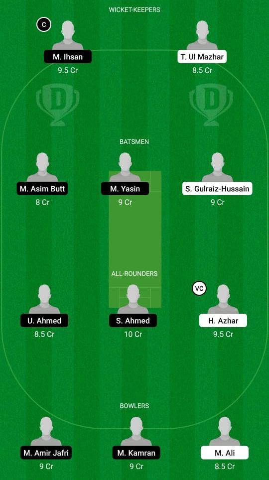 BAR vs PIC Dream11 Prediction Fantasy Cricket Tips Dream11 Team ECS T10 Barcelona