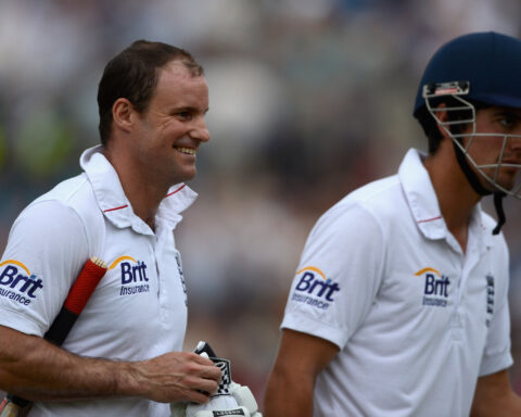 England, Alastair Cook, Andrew Strauss