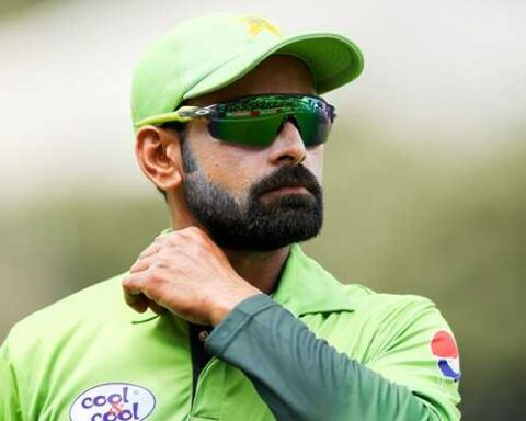 Pakistan batsman Mohammad Hafeez