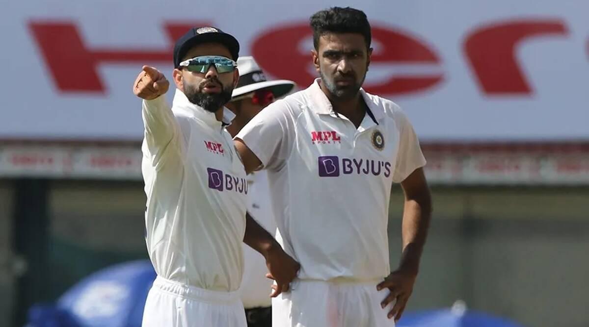 Virat Kohli and Ravichandran Ashwin. Credits: BCCI