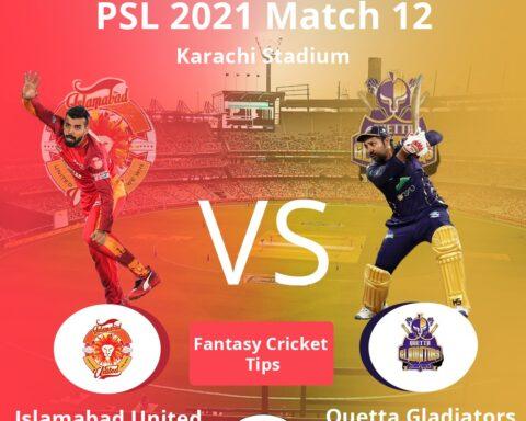 ISL vs QUE Dream11 Prediction, Fantasy Cricket Tips, Playing XI, Pitch Report, Dream11 Team, Injury Update –Pakistan Super League 2021