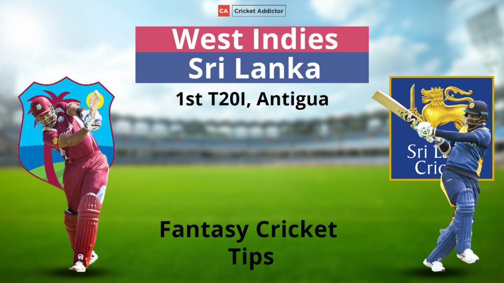 WI vs SL Dream11 Prediction, Fantasy Cricket Tips, Playing XI, Pitch Report, Dream11 Team, Injury Update– Sri Lanka tour of West Indies 2021