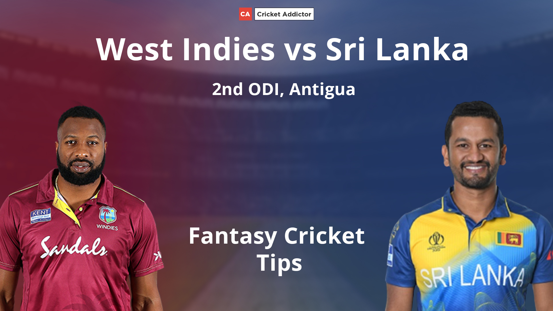 West Indies vs Sri Lanka Dream11 Prediction, Fantasy Cricket Tips, Playing XI, Pitch Report, Dream11 Team, Injury Update.