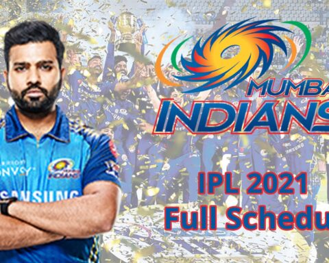 IPL 2021: Complete Schedule Of Mumbai Indians For The Tournament