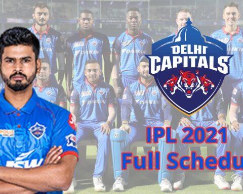 IPL 2021: Complete Schedule Of Delhi Capitals (DC) For The Tournament