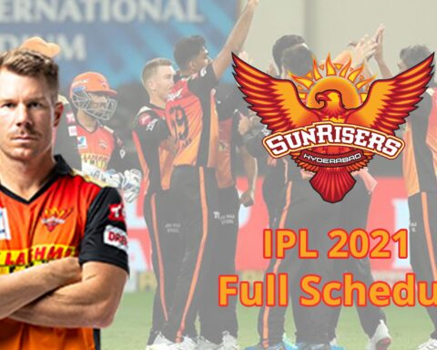 IPL 2021: Complete Schedule Of Sunrisers Hyderabad (SRH) For The Tournament
