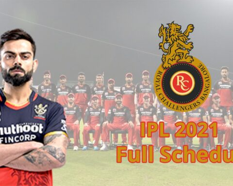 IPL 2021: Complete Schedule Of Royal Challengers Bangalore (RCB) For The Tournament