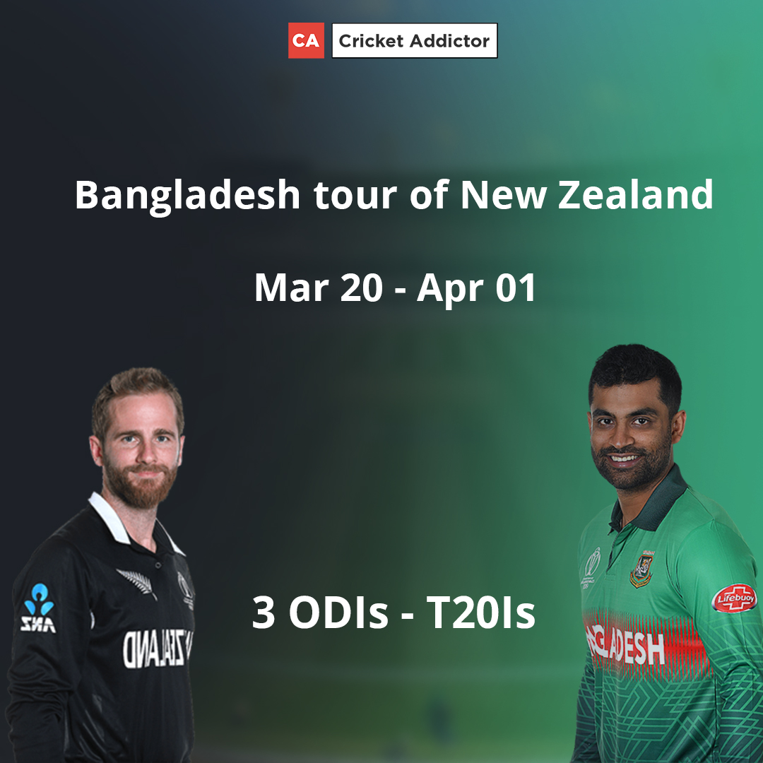 New Zealand vs Bangladesh 2021: Complete Schedule, Venues, Distribution Of Points, Complete Squads, Live Streaming Details And Everything You Need To Know