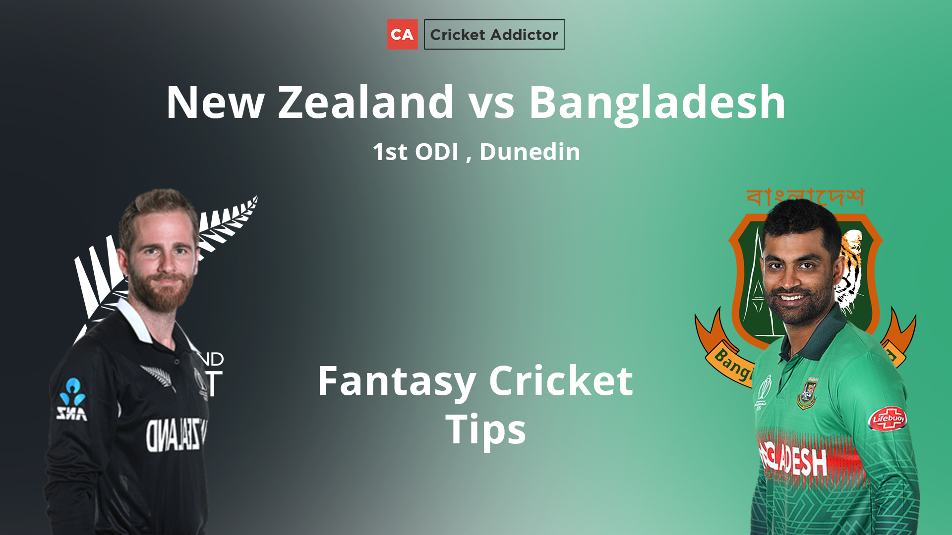 New Zealand vs Bangladesh 1st ODI Dream11 Prediction, Fantasy Cricket Tips, Playing XI, Pitch Report, Dream11 Team, and Injury Update.