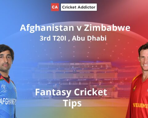 Afghanistan vs Zimbabwe 3rd T20I Dream11 Prediction, Fantasy Cricket Tips, Playing XI, Pitch Report, Dream11 Team, Injury Update.