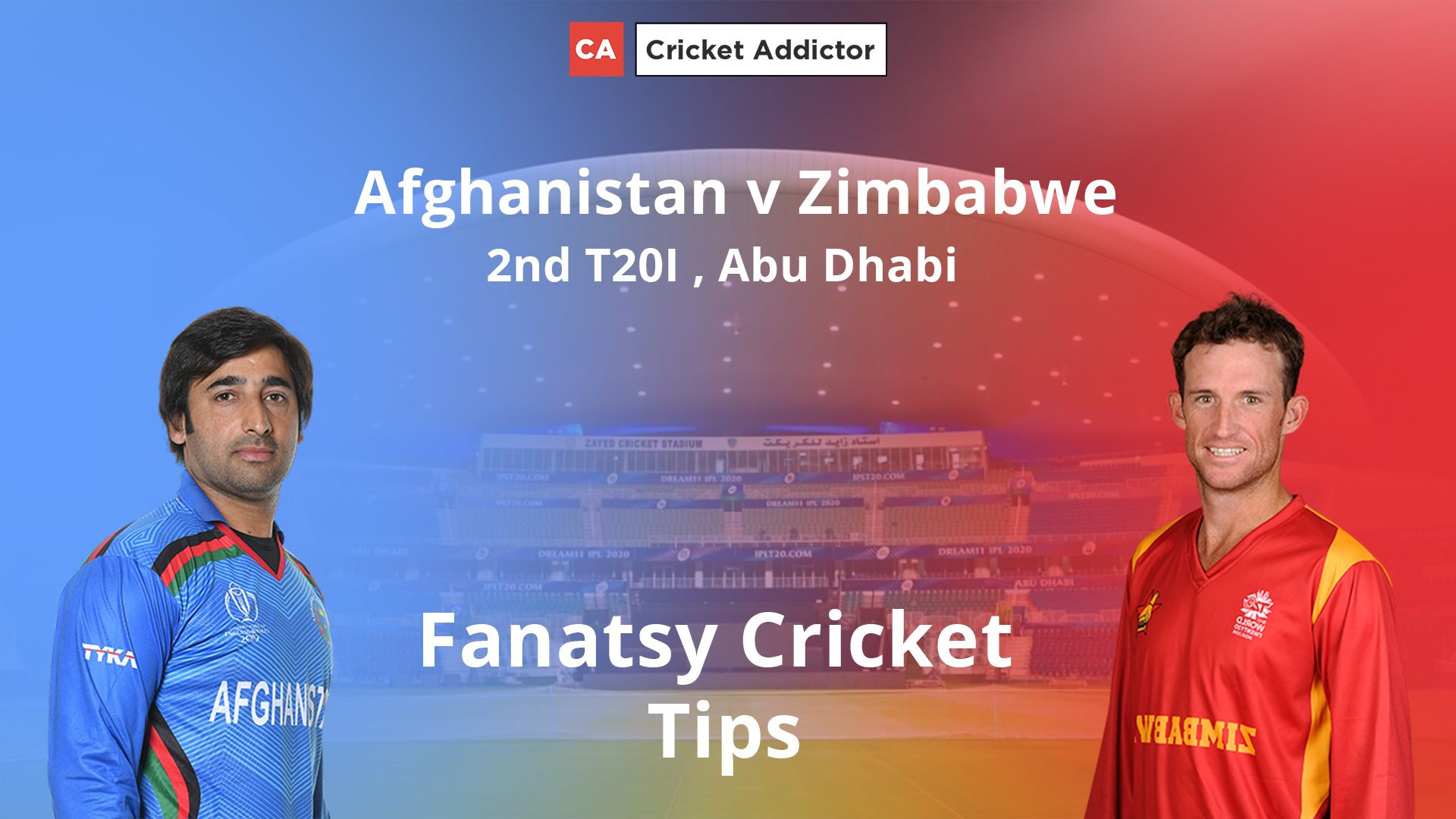 Afghanistan vs Zimbabwe 2ND T20I Dream11 Prediction, Fantasy Cricket Tips, Playing XI, Pitch Report, Dream11 Team, and Injury Update.