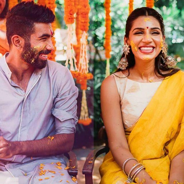 Unseen Photos From Jasprit Bumrah-Sanjana Ganesan Pre-Wedding & Wedding Ceremonies