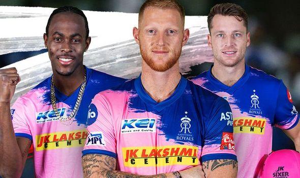 Rajasthan Royals, Jos Buttler, Jofra Archer, and Ben Stokes (RR Twitter)