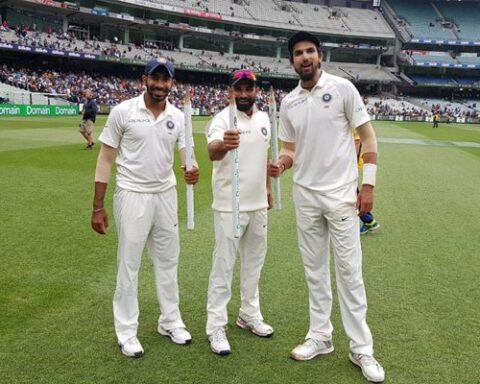 Mohammed Shami, Ishant Sharma, Jasprit Bumrah