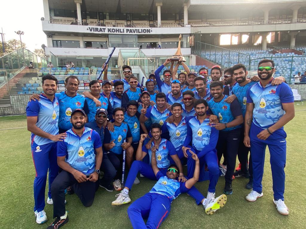 2021 Vijay Hazare Trophy Champions Mumbai
