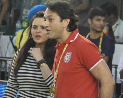 Ness Wadia, Preity Zinta, Punjab Kings