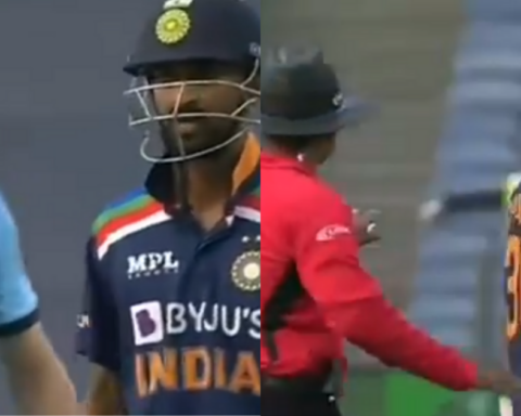 Watch: Krunal Pandya And Tom Curran Fight On The Field Over A Wide-Ball Decision By On-Field Umpire