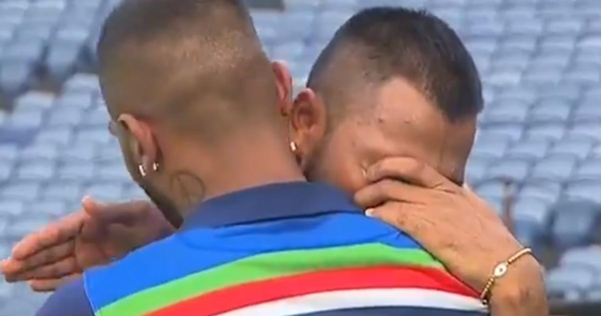 Watch: Hardik Pandya Condoles Krunal Pandya After The Latter Breaks Into Tears