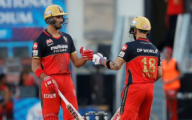 Virat Kohli and Devdutt Padikkal, IPL 2021