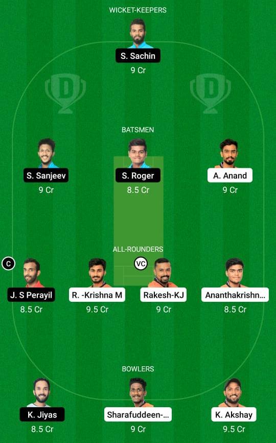 EAG vs PAN Dream11 Prediction Fantasy Cricket Tips Dream11 Team KCA Presidents Cup