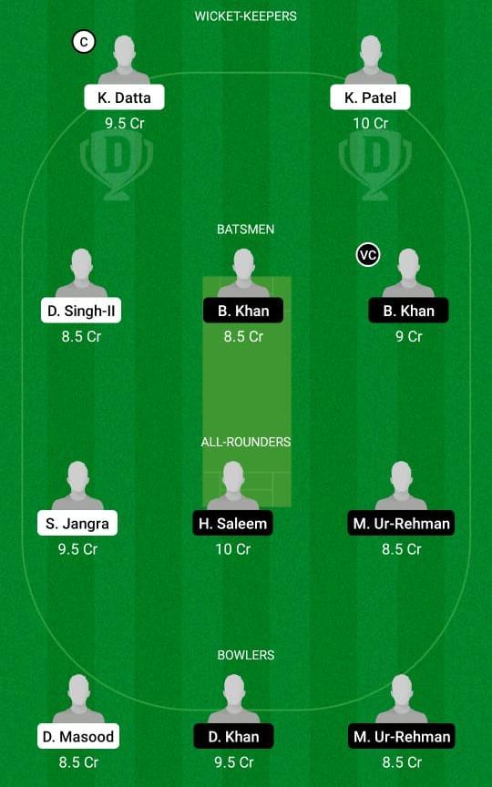 RAS vs BSH Dream11 Prediction Fantasy Cricket Tips Dream11 Team ECS T10 Barcelona