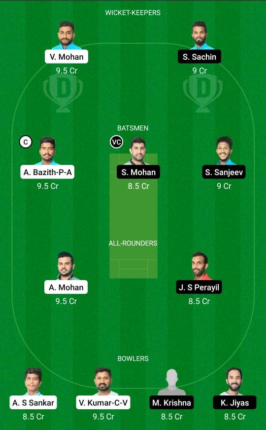 LIO vs PAN Dream11 Prediction Fantasy Cricket Tips Dream11 Team KCA Presidents Cup