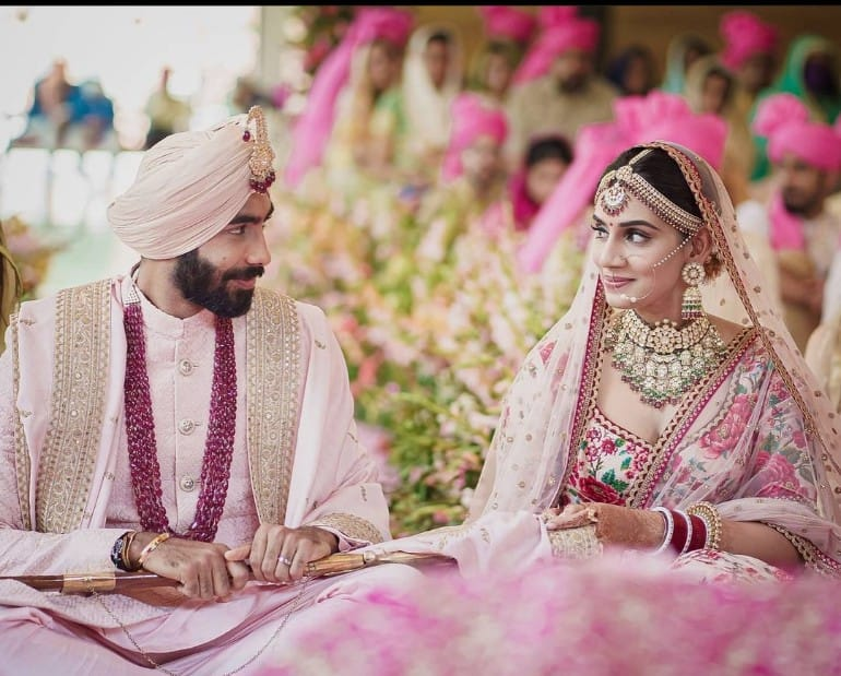 'Sent by love we started a new journey together': Jasprit Bumrah marries Sanjana Ganesan