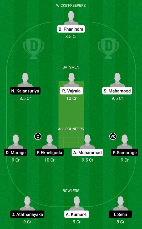 ROR vs RCC Dream11 Prediction Fantasy Cricket Tips Dream11 Team ECS T10 Rome